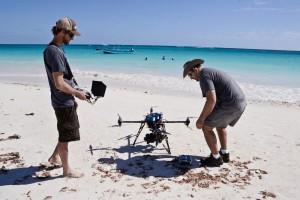 Octocopter Drone UAV